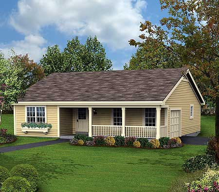 affordable ranch home simplicity 57123ha architectural