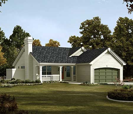 Affordable four bedroom ranch home 57147ha for Cheap ranch house plans