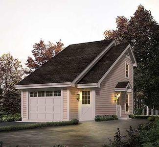 Architectural designs for Garage office designs