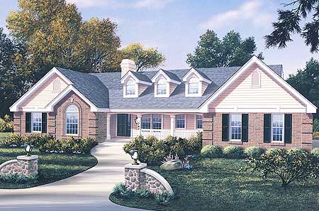 Atrium ranch with rooms to spare 5716ha 1st floor for Atrium ranch house plans