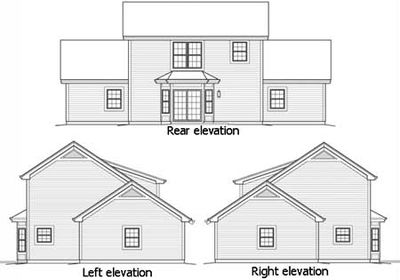 4-Car Apartment Garage With Style - 57162HA thumb - 02