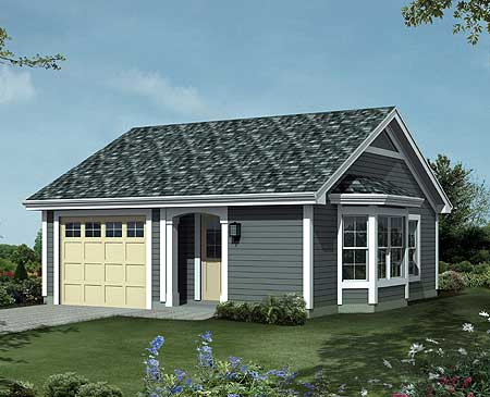 Comfortable And Cozy Cottage House Plan 57164ha