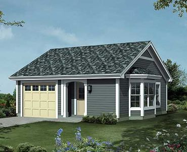 Comfortable And Cozy Cottage House Plan - 57164HA | Architectural ...