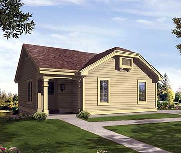 Simple Affordable Lake Home 57166ha Architectural