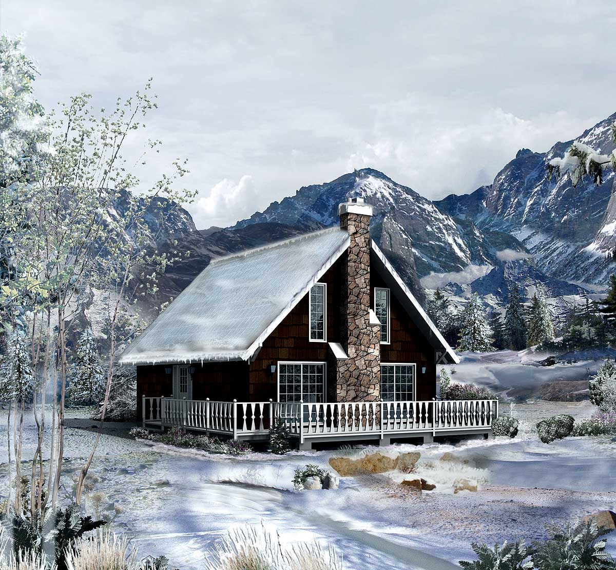 Country Retreat For Quiet Times 57195ha Architectural