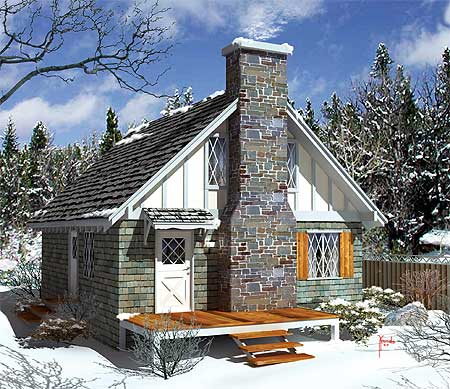 Cozy Cottage Living 57207ha Architectural Designs