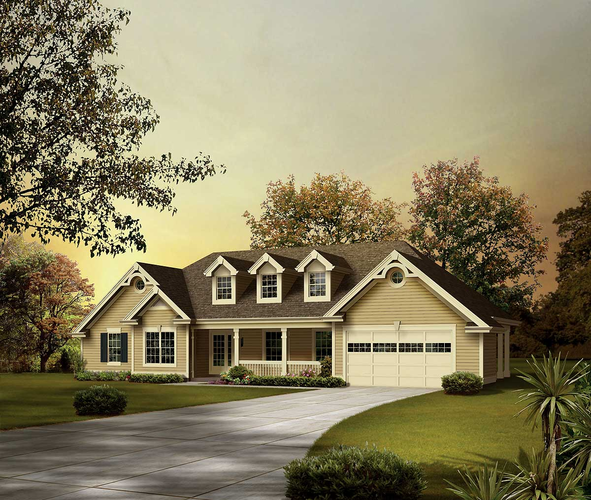One level ranch home plan 57237ha 1st floor master for One level ranch homes