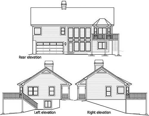 Economical Atrium Ranch Home Plan 57239ha 1st Floor