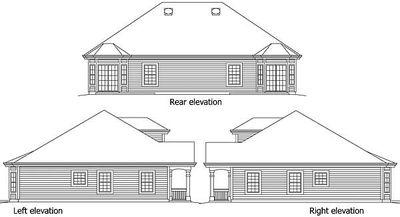 Stylish Duplex Home Plan - 57248HA thumb - 02