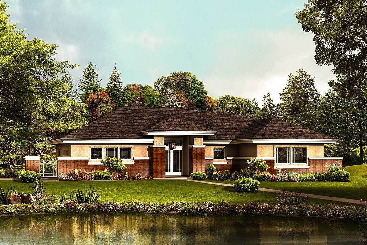 Dynamic contemporary home plan 57267ha architectural for Dynamic house