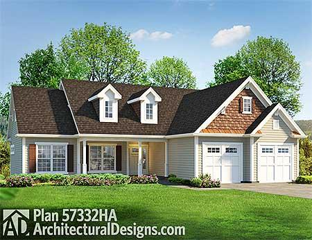 Atrium ranch house plan 57332ha 1st floor master suite for Atrium home plans