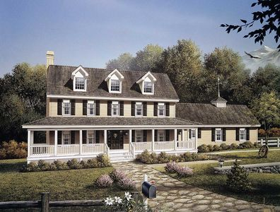 Stately country home plan 5792ha architectural designs for Stately house plans