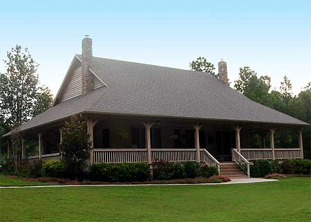 Wrap around porch with options 58302sv 1st floor for Barn house plans with porches