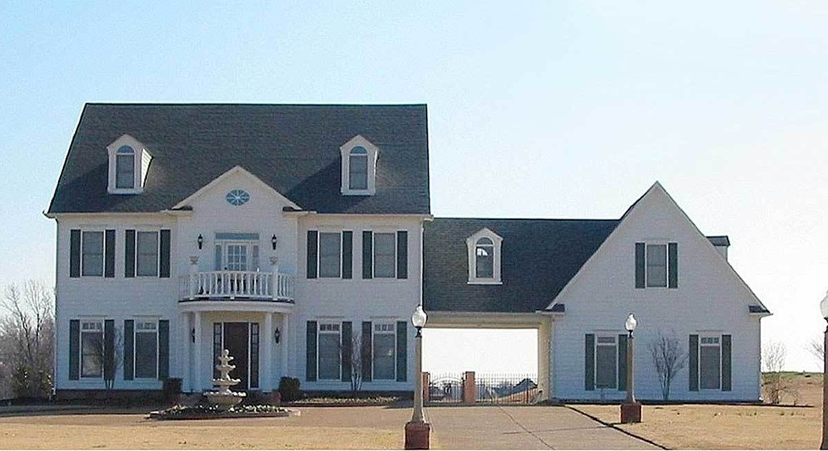 Center hall colonial house plan 58475sv architectural for Center hall colonial house plans