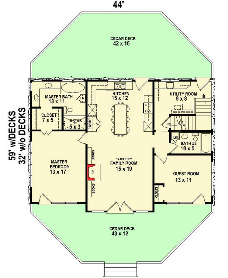 Country kitchen 58483sv architectural designs house for Country kitchen floor plans