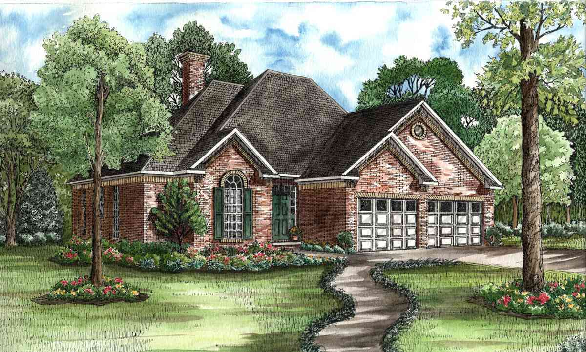 Traditional home design fit for entertaining 59088nd for Large home plans for entertaining