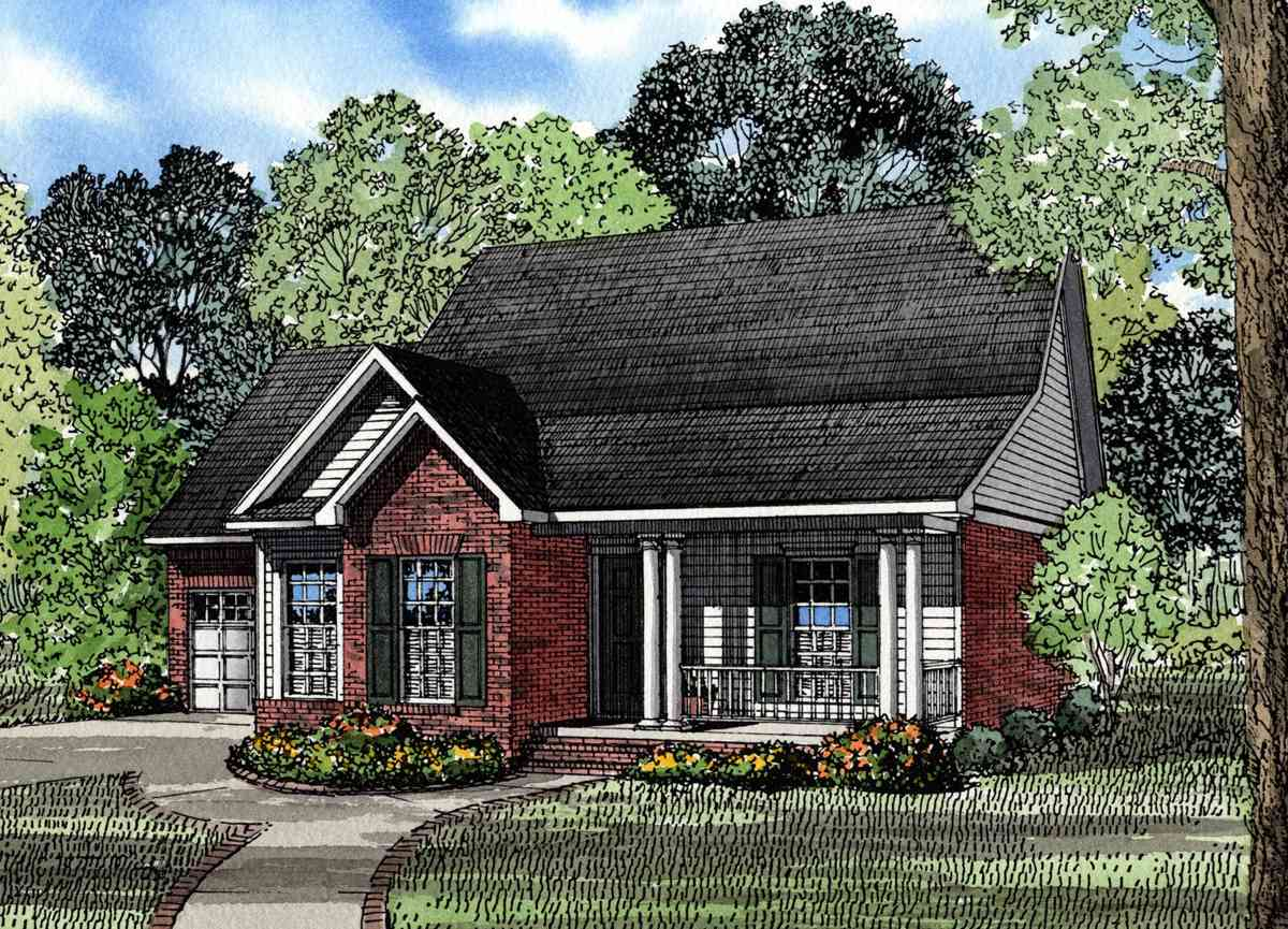 Traditional neighborhood home design 59097nd for Subdivision house plans