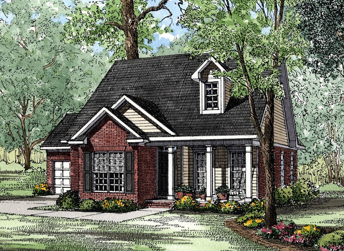 Quaint cottage plan 59130nd architectural designs for Cottage home plans designs