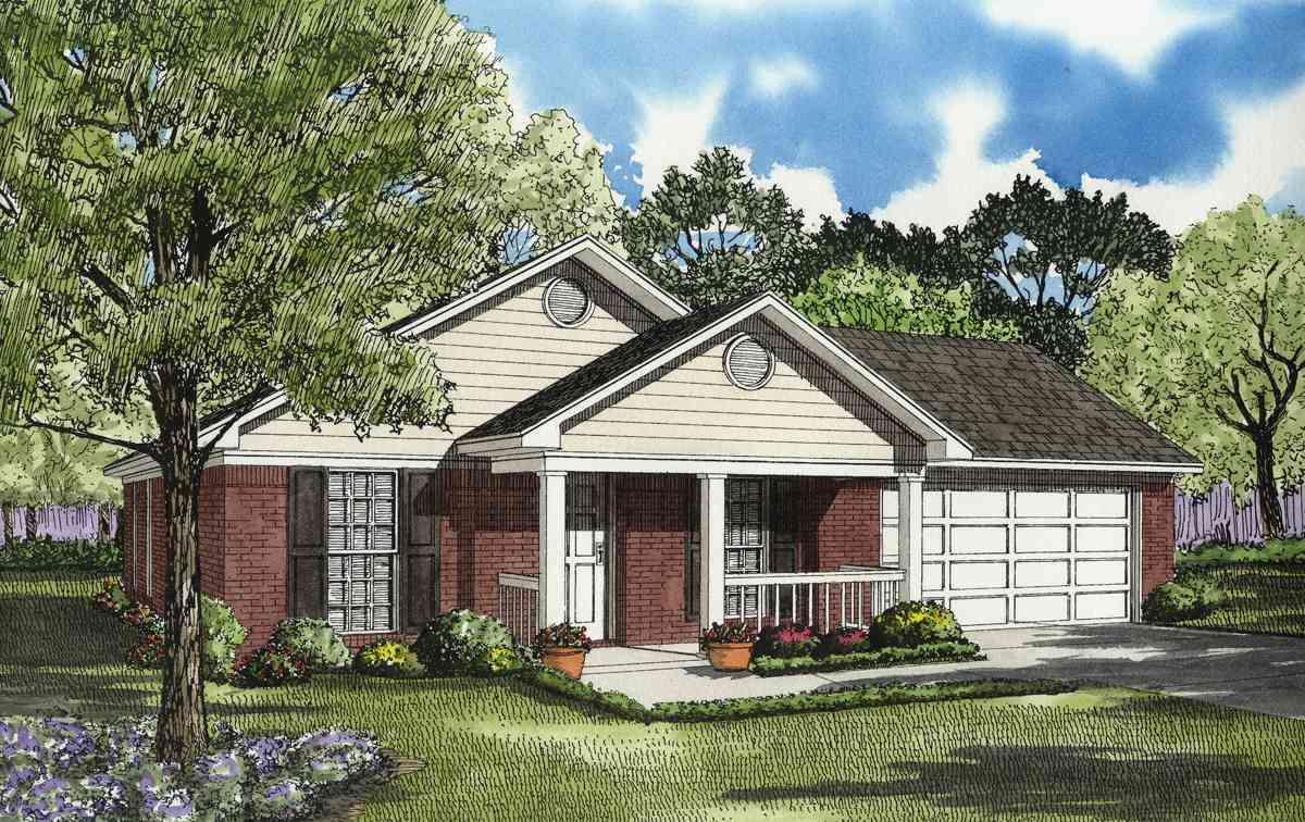 Lovely affordable house plan 59137nd 1st floor master for Affordable ranch home plans