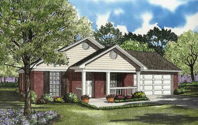 Lovely Affordable House Plan - 59137ND thumb - 01