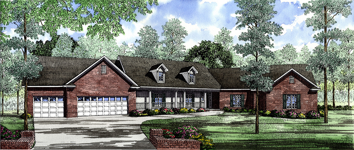 Lake View Home Plan 59196nd Architectural Designs