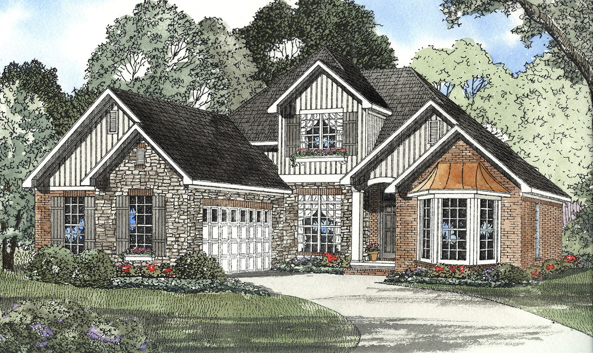 French country retreat 59216nd 1st floor master suite for Large french country house plans