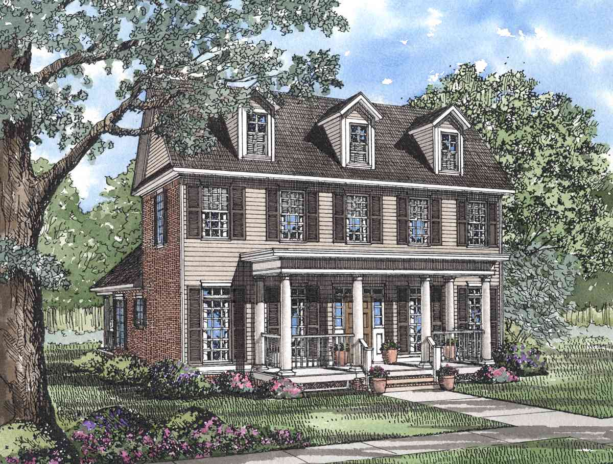Traditional values 59241nd architectural designs for Value house plans