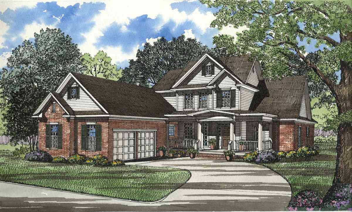 Southern charm and beauty 59243nd architectural Southern charm house plans