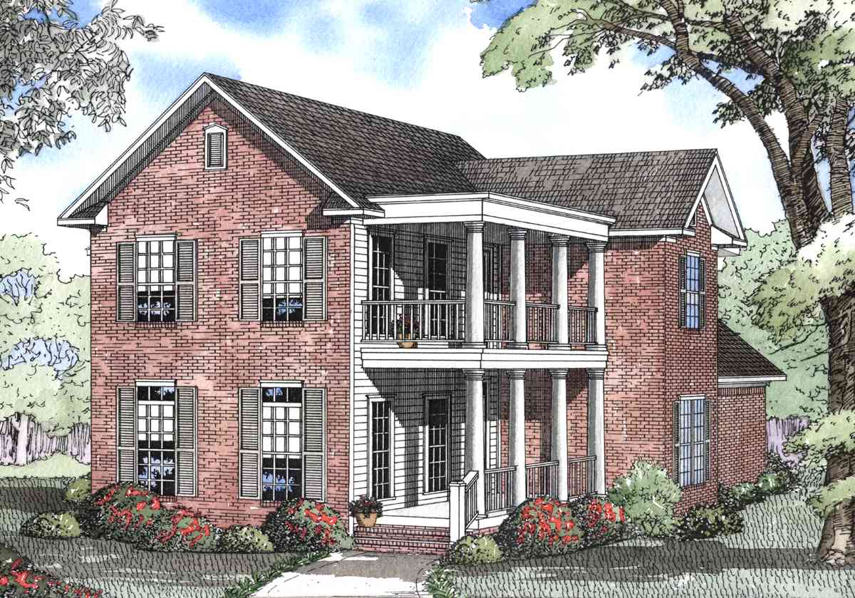True southern charm 59251nd architectural designs Southern charm house plans