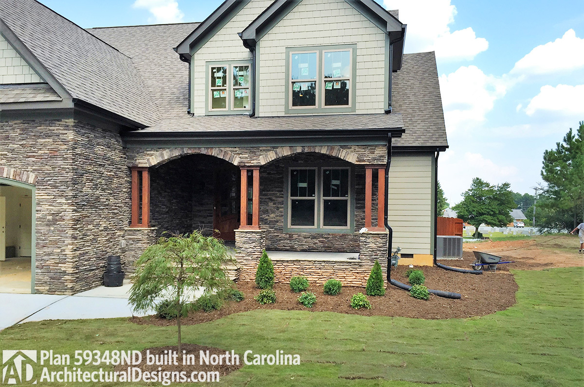 House Plan 59348nd Comes To Life In North Carolina