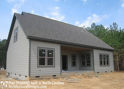 House Plan 59348ND comes to life in North Carolina - photo 013