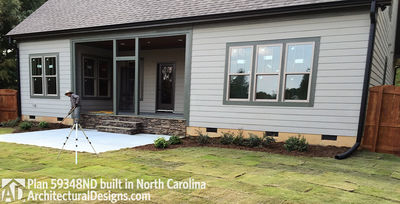 House Plan 59348ND comes to life in North Carolina - photo 014