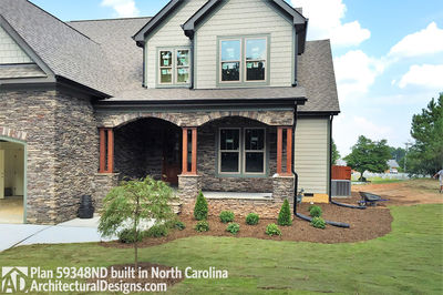 House Plan 59348ND comes to life in North Carolina - photo 001