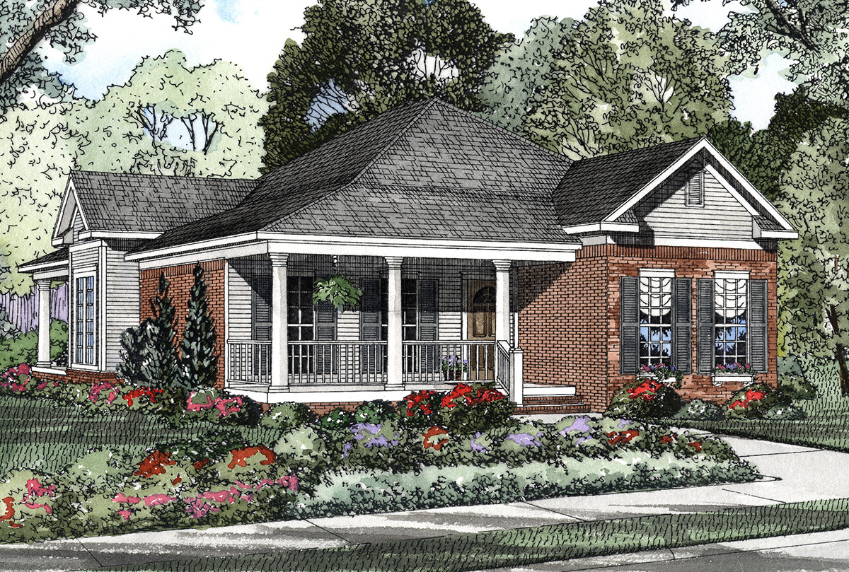 5935nd_1466623944 Mid Entry Garage House Plan on mid size house plans, end entry house plans, mid century modern house exteriors, mid century beach house, corner entry house plans, front entry house plans, mid century modern floor plans,