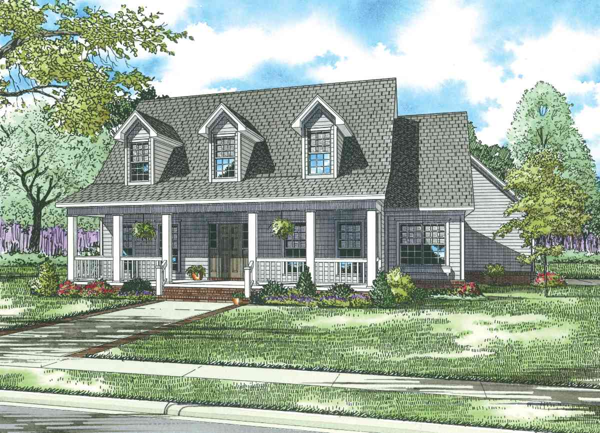 True southern charm 59408nd architectural designs Southern charm house plans