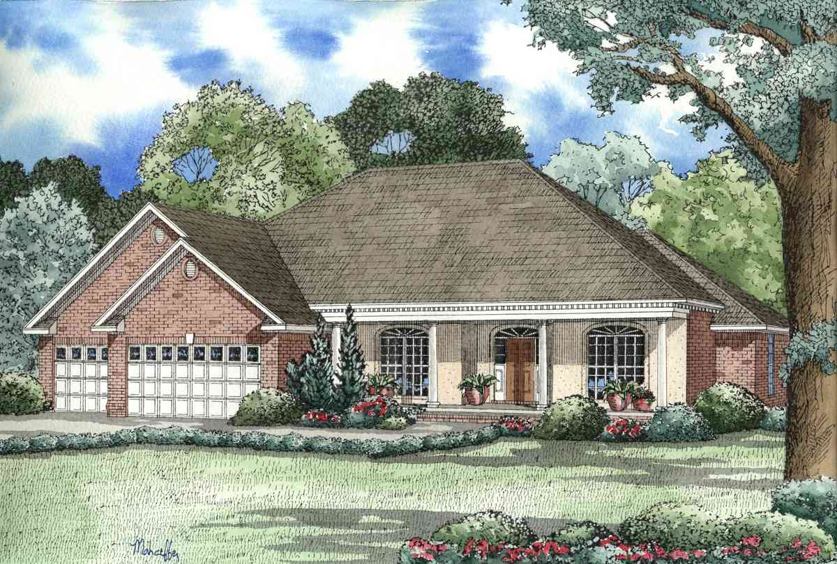 Architectural designs for Classic ranch house plans