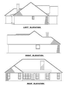 Rear Porch for Entertaining - 59470ND thumb - 03