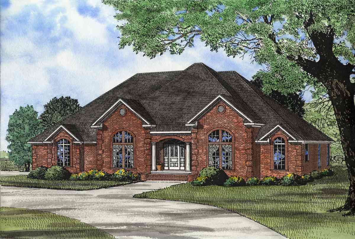 Two Master Suites 59638nd Architectural Designs