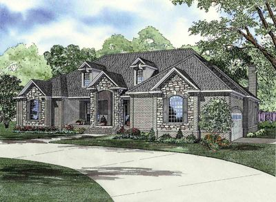 Blend of Brick and Stone - 59653ND thumb - 01