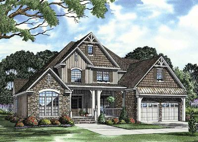 Unique Inviting House Plan - 59657ND thumb - 01