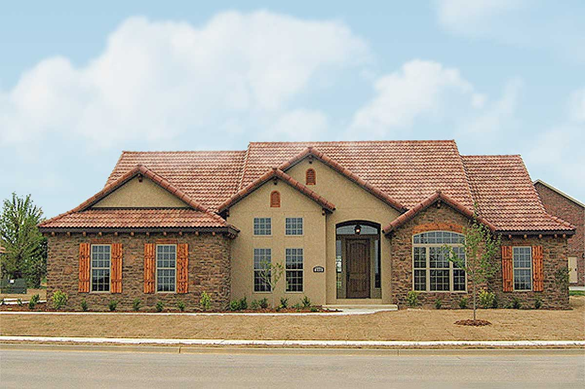 Tuscan Villa Floor Plans: Architectural Designs - House Plans