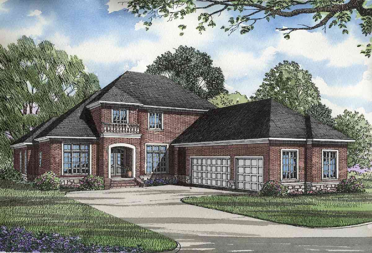 Home Plan With Numerous Amenities 59875nd