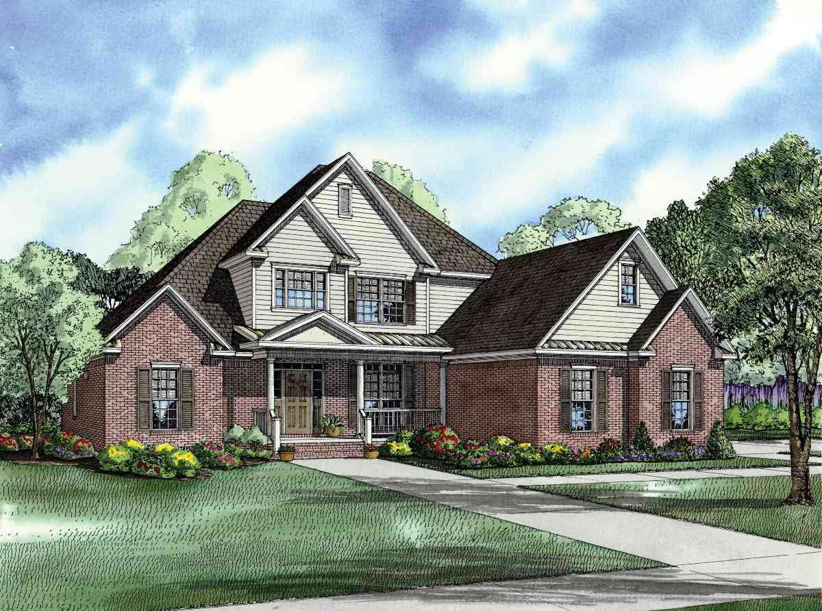 Great curb appeal 59883nd architectural designs for Great home plans