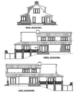 Low Country Cottage House Plan - 59964ND thumb - 04