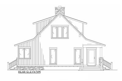 Low Country Cottage House Plan - 59964ND thumb - 03