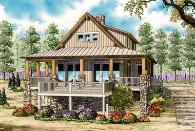 Low Country Cottage House Plan - 59964ND thumb - 01