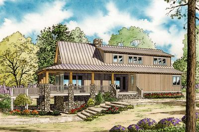 Low Country Cottage House Plan - 59964ND thumb - 02