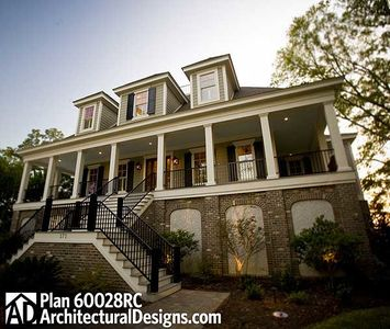 Spacious Low Country Home Plan - 60028RC thumb - 11