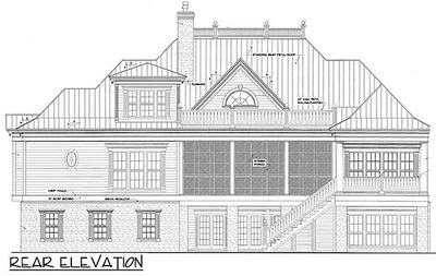 Spacious Low Country Home Plan - 60028RC thumb - 12