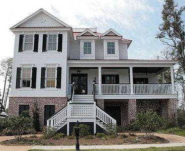 Superb Charleston House Plan - 60042RC thumb - 01